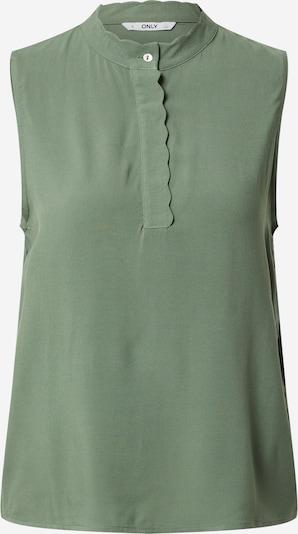 ONLY Blouse 'MIMI LIFE' in de kleur Groen, Productweergave