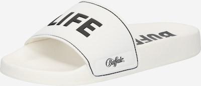 BUFFALO Pantofle 'RILEY' - černá / bílá, Produkt