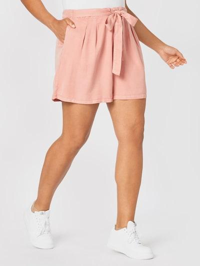 Vero Moda Curve Shorts 'Mia' in altrosa, Modelansicht