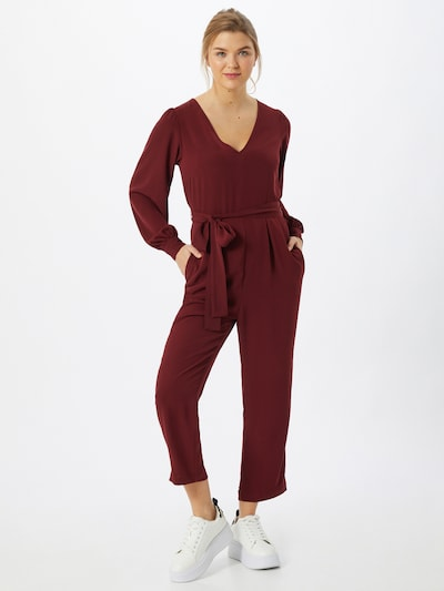 GAP Jumpsuit in weinrot, Modelansicht