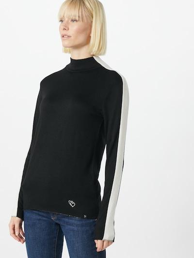 Key Largo Shirt 'Illy' in schwarz, Modelansicht