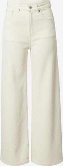 WEEKDAY Jeans 'Ace' in white denim, Produktansicht