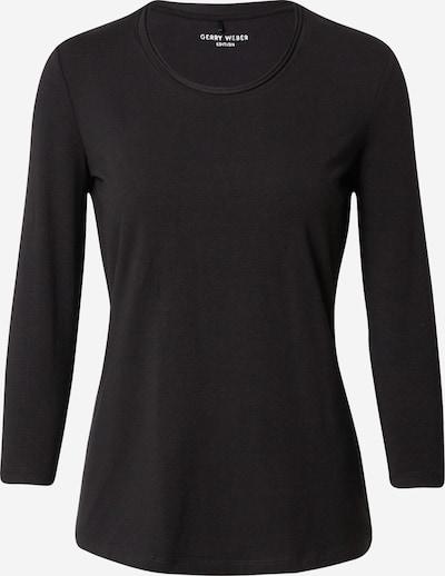 GERRY WEBER T-shirt en noir, Vue avec produit