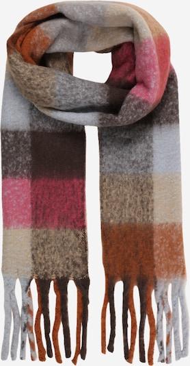Šalikas 'HANNY' iš UNMADE Copenhagen, spalva – šokolado spalva / šviesiai ruda / pilka / rožinė, Prekių apžvalga