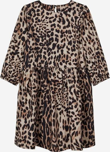 NAME IT Leopardenprint Kleid in braun, Produktansicht