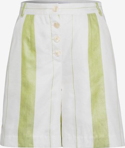 IVY & OAK Broek in de kleur Appel / Wit, Productweergave