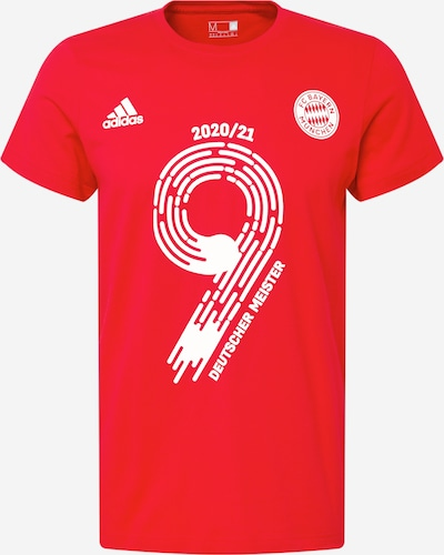 ADIDAS PERFORMANCE Funkčné tričko 'FCB Meister21' - svetločervená / biela, Produkt