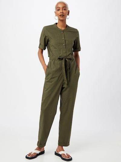 TOM TAILOR Overal - tmavě zelená, Model/ka