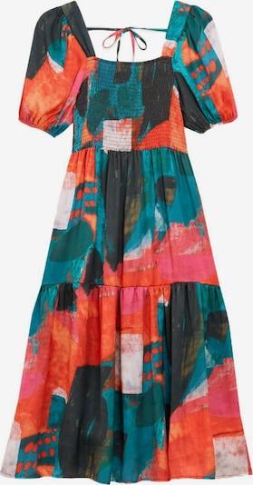 Zibi London Kleid in dunkelblau / dunkelgrün / dunkelpink / rot, Produktansicht