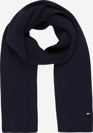 TOMMY HILFIGER Schal in dunkelblau / rot / weiß, Produktansicht