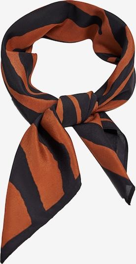 MANGO Zaščitna maska 'TIGER' | temno oranžna / črna barva, Prikaz izdelka