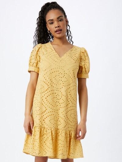 minus Kleid 'Vilma' in gelb, Modelansicht