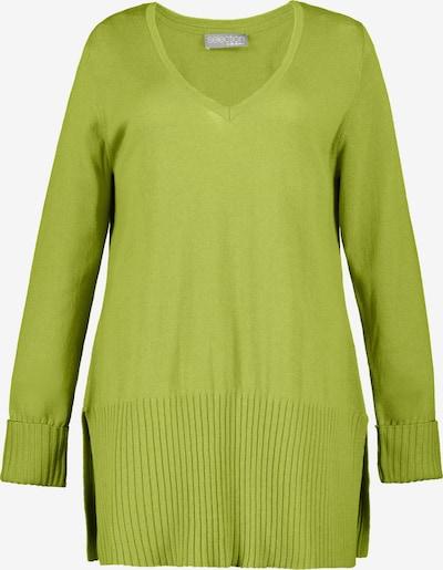 Ulla Popken Pullover in hellgrün, Produktansicht