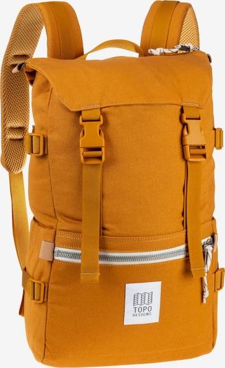 Topo Designs Rucksack 'Rover Pack' in dunkelgelb, Produktansicht