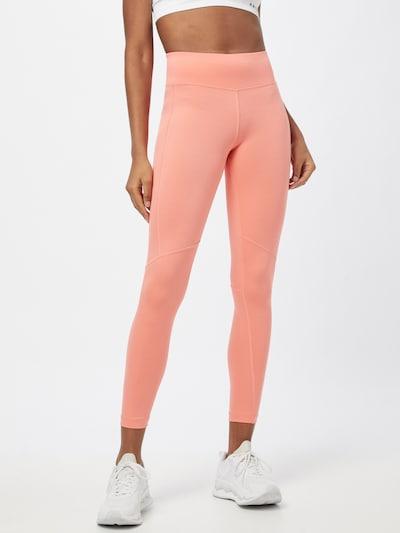 REEBOK Sportovní kalhoty - broskvová / bílá, Model/ka