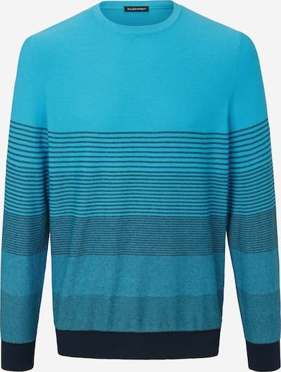Louis Sayn Rundhals-Pullover in blau, Produktansicht