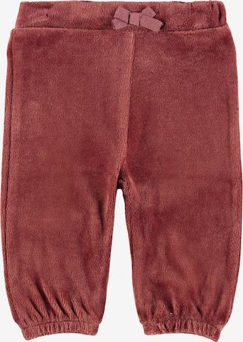 Pantalon 'Ria' NAME IT en rouge