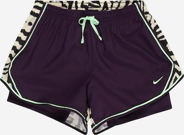 Pantalon de sport 'Tempo' NIKE en violet