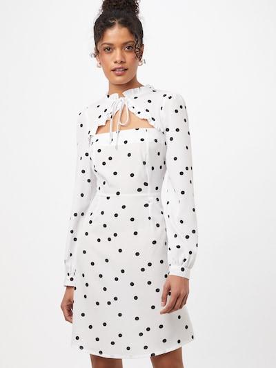NEW LOOK Kleid in schwarz / weiß, Modelansicht
