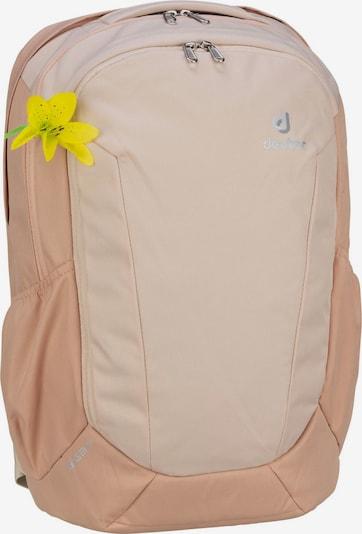 DEUTER Sac à dos en jaune / gris / rose pastel, Vue avec produit