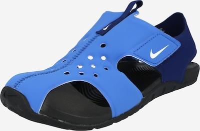Nike Sportswear Claquettes / Tongs 'Sunray Protect 2 TD' en bleu clair / bleu foncé, Vue avec produit