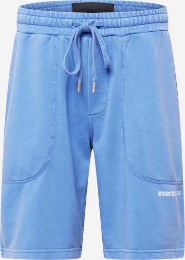 DRYKORN Панталон 'BREAK' в синьо / бяло, Преглед на продукта