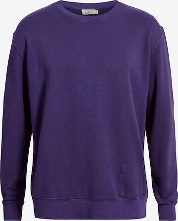 MÁ Hemp Wear Sweatshirt 'Marsh' in Lila