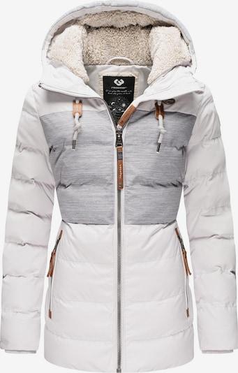 Ragwear Winterjacke ' Quantic ' in weiß, Produktansicht
