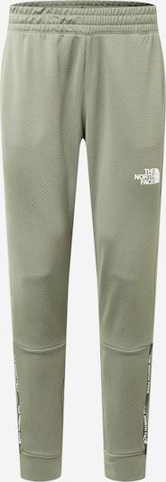 THE NORTH FACE Sweathose in khaki / schwarz / weiß, Produktansicht
