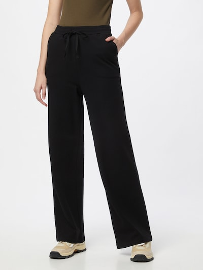 ARMEDANGELS Pantalon 'HANNAA' en noir, Vue avec modèle