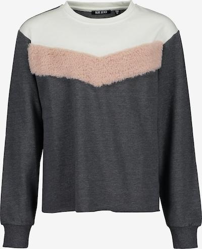 BLUE SEVEN Sweatshirt in grau / rosa / offwhite, Produktansicht