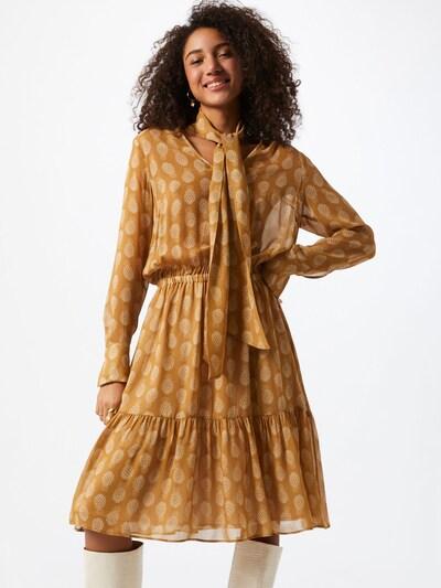 DRYKORN Kleid 'Maline' in beige / braun, Modelansicht