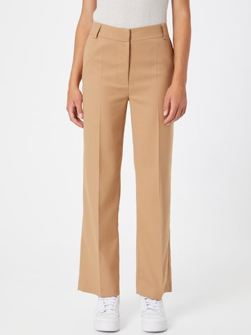 Libertine-Libertine Trousers with creases 'Flaw' in Brown