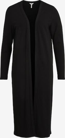 Palton tricotat 'Jamie' OBJECT pe negru, Vizualizare produs