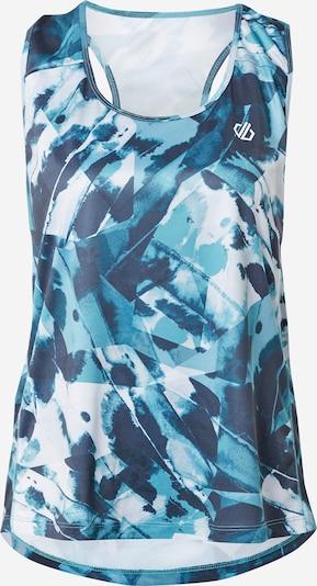 DARE2B Haut de sport 'Ardency Vest' en bleu / bleu clair / gris foncé, Vue avec produit