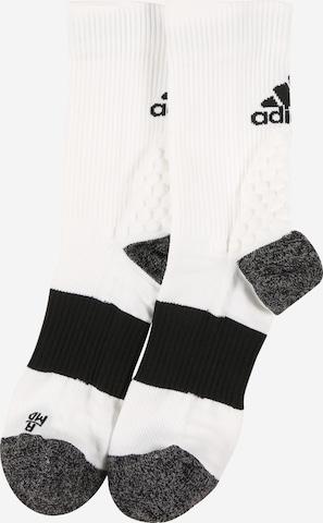 ADIDAS PERFORMANCE Sportssokker i hvit