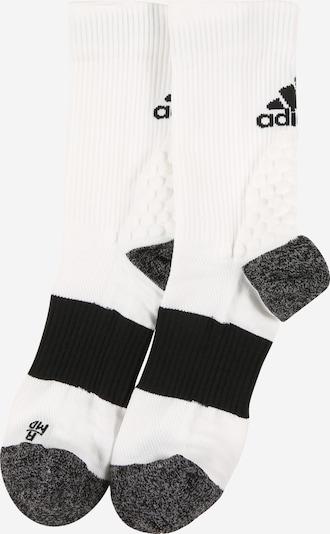 ADIDAS PERFORMANCE Športové ponožky - sivá melírovaná / čierna / biela, Produkt