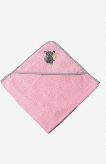 LILIPUT Kapuzenbadetuch 'Koala' in rosa, Produktansicht