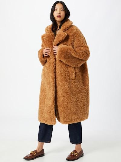 OOF WEAR Mantel in beige, Modelansicht