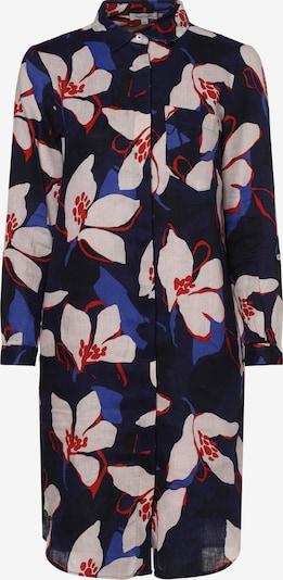 apriori Kleid in blau / navy / weiß, Produktansicht