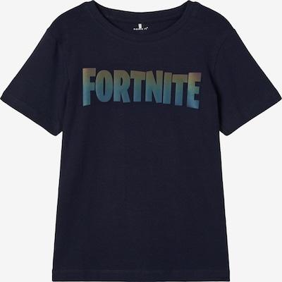 NAME IT Shirt in de kleur Blauw / Navy / Geel, Productweergave