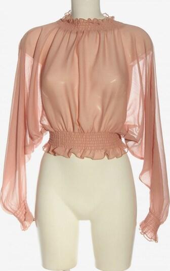 Fashion Nova Transparenz-Bluse in S in nude, Produktansicht