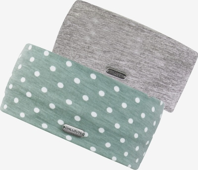 chillouts Headband in mottled grey / Green / White, Item view