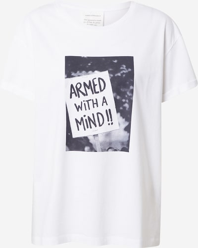 ARMEDANGELS Tričko 'Naalin' - černý melír / bílá, Produkt