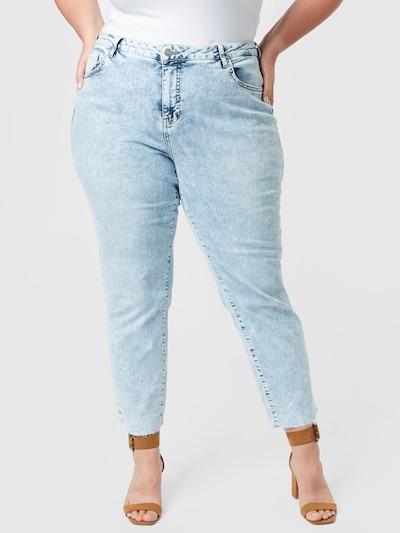 Zizzi Jeans 'JAYDEN' in hellblau, Modelansicht