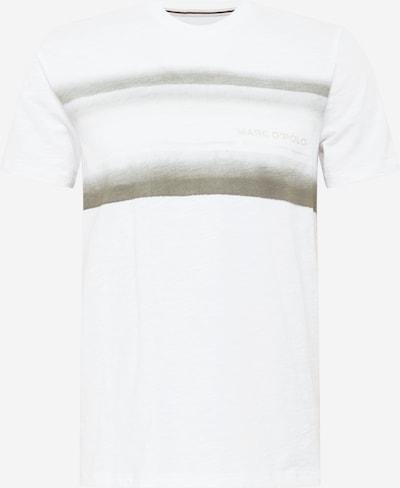 Marc O'Polo T-Shirt in greige / weiß, Produktansicht
