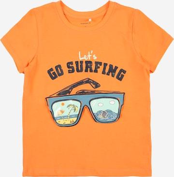 NAME IT Shirt 'FANO' in Orange