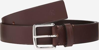 Calvin Klein Jeans Gürtel in braun / silber, Produktansicht