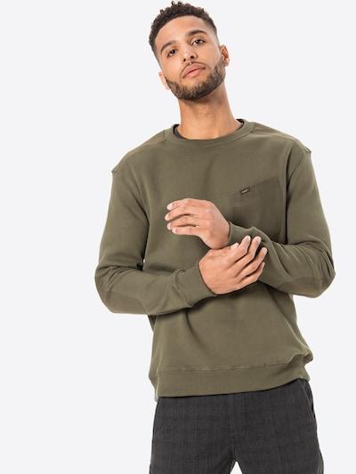 Megztinis be užsegimo iš Lee , spalva - rusvai žalia, Modelio vaizdas
