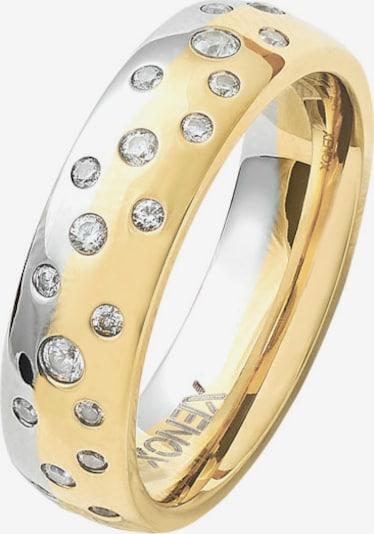 XENOX Ring in gold / silber, Produktansicht